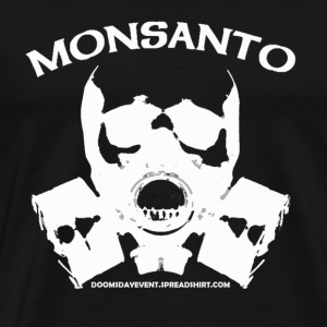 MONSANTO GAS MASK HEAVY TEE - Men's Premium T-Shirt