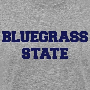 Heather grey kentucky bluegrass state T-Shirts - Men's Premium T-Shirt