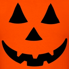 Orange jacko lantern T-Shirts