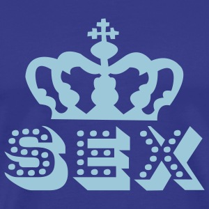 Royal blue sex T-Shirts - Men's Premium T-Shirt