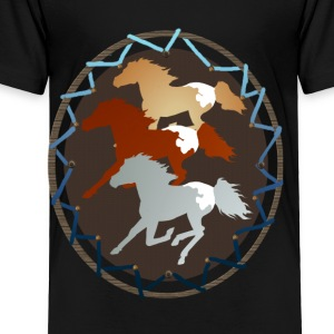 Sheild and Appy Horses - Toddler Premium T-Shirt
