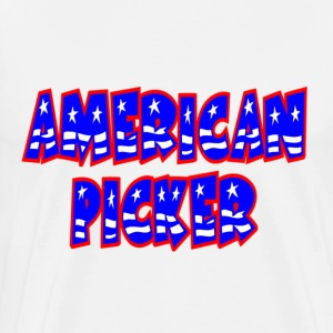 White American Picker T-Shirts - Men's Premium T-Shirt