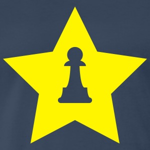 Navy Pawn Star T-Shirts - Men's Premium T-Shirt