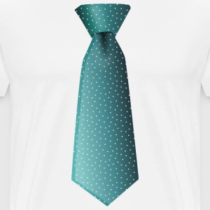 Necktie - Men's Premium T-Shirt