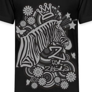 Z for Zebra - Toddler Premium T-Shirt