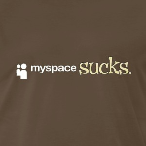 myspace_sucks T-Shirts - Men's Premium T-Shirt