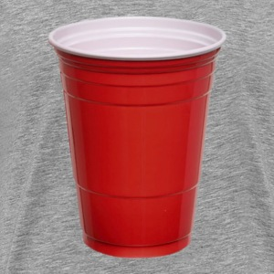 Beer Pong Red Plastic Cup T-Shirt - Men's Premium T-Shirt