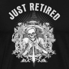 Black just retired T-Shirts