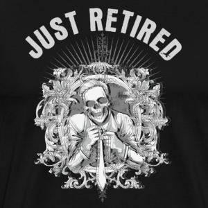 Black just retired T-Shirts - Men's Premium T-Shirt