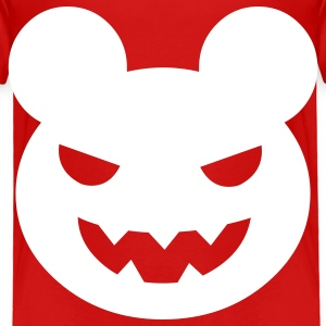 Red halloween evil bear Toddler Shirts - Toddler Premium T-Shirt
