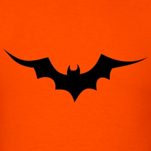 Orange bat halloween T-Shirts - Men's T-Shirt