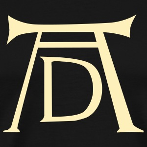 AD Durer Monogram - Men's Premium T-Shirt