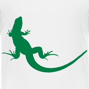 White lizard Toddler Shirts - Toddler Premium T-Shirt