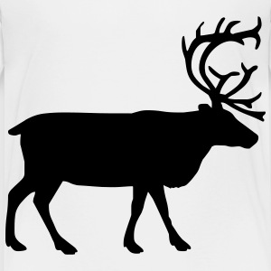 White reindeer Toddler Shirts - Toddler Premium T-Shirt