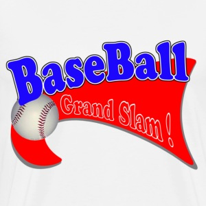 BaseBall Grand Slam 2 Red/Grey T-Shirts - Men's Premium T-Shirt