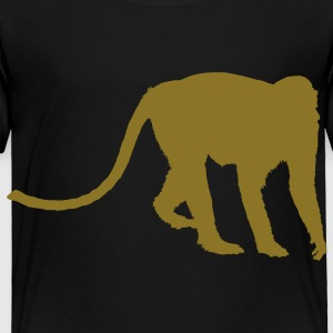 Black baboon Toddler Shirts - Toddler Premium T-Shirt