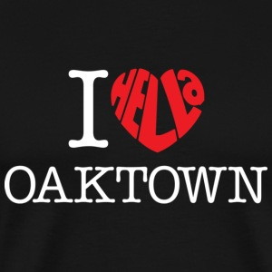 I Hella Love Oaktown - Men's Premium T-Shirt