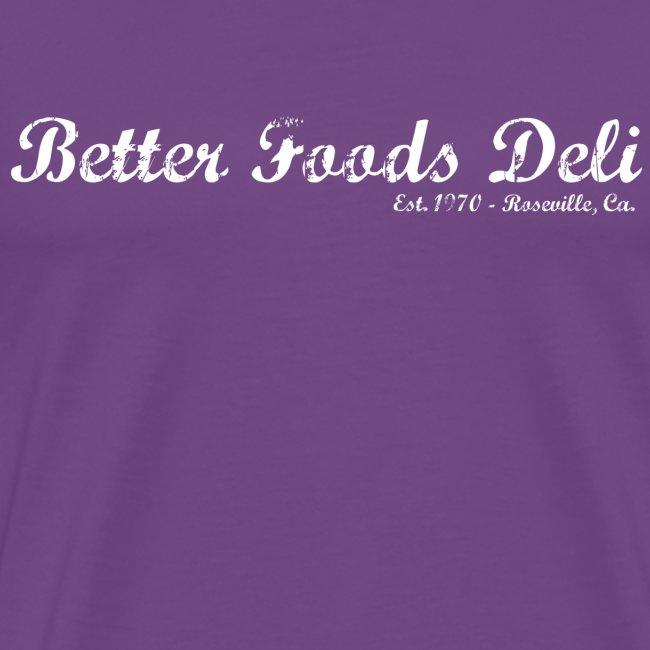 Better Foods Deli - White Text