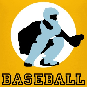 Yellow baseball_c_catcher_3c Kids' Shirts - Kids' Premium T-Shirt