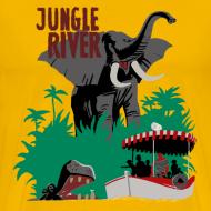Design ~ Jungle River- Vintage Disneyland Poster Style