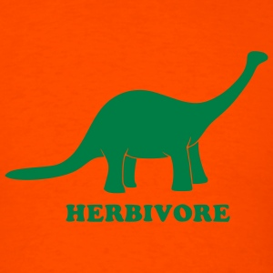 Orange Herbivore T-Shirts - Men's T-Shirt