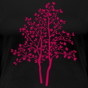 tree Plus Size - Women's Premium T-Shirt
