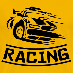 Gold racing T-Shirts - Men's Premium T-Shirt