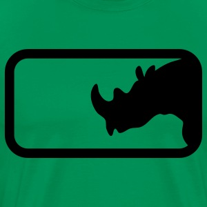 RHINO IN BOX T-Shirts - Men's Premium T-Shirt