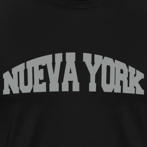 Black nueva york T-Shirts - Men's Premium T-Shirt