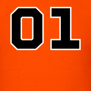 General Lee Number - Dukes of Hazzrd - Men's T-Shirt