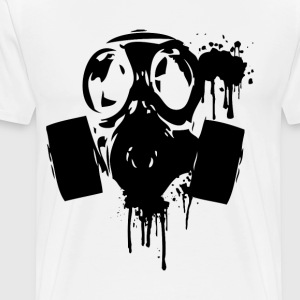 Gas Mask Grim 2 - Men's Premium T-Shirt