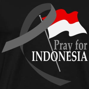 Pray for Indonesia - Men's Premium T-Shirt
