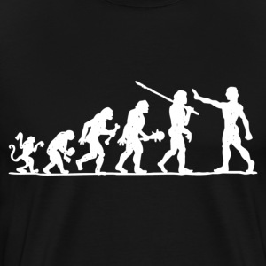 Eolution of Man 2 Sided - Men's Premium T-Shirt