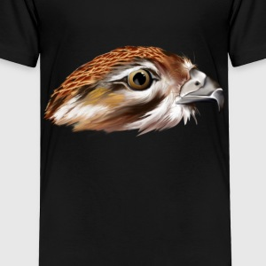 Hawk Face - Toddler Premium T-Shirt
