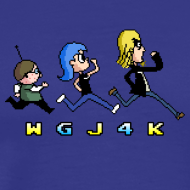 Design ~ WGJ4K Pixel shirt