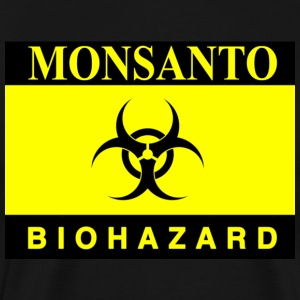 Biohazard monsanto gasmask - Men's Premium T-Shirt