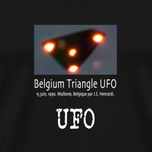 UFO Belgium Triangle - Men's Premium T-Shirt