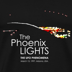 UFO Phoenix Lights Incident - Men's Premium T-Shirt
