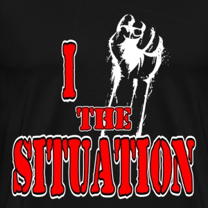 I Love The Situation Fist Pump Jersey Shore For Da T-Shirts - Men's Premium T-Shirt