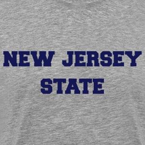 new jersey state T-shirts (manches courtes) - T-shirt premium pour hommes