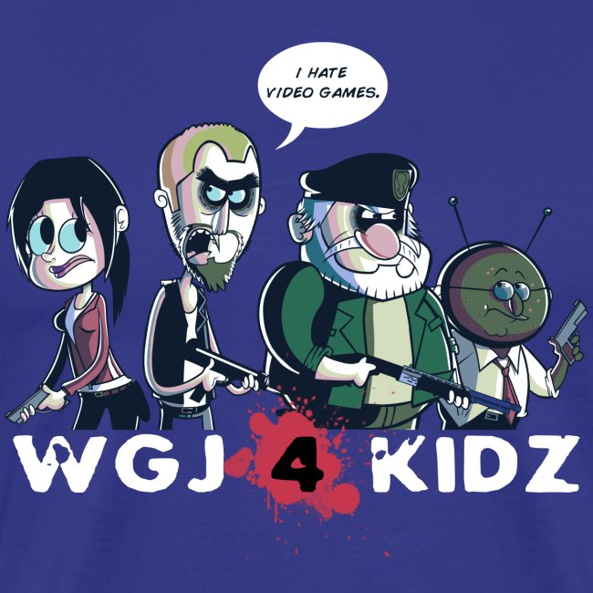 WGJ4K Left4Dead tee