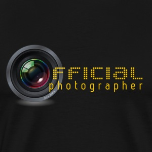 Canon Nikon Official photographer - Men's Premium T-Shirt