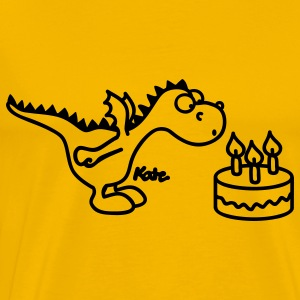 Happy Birthday Little Dragon T-Shirts - Men's Premium T-Shirt
