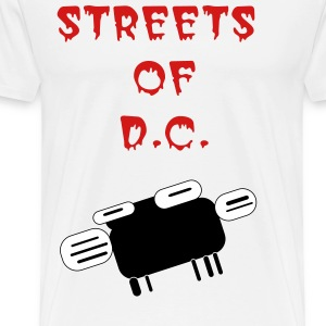 Streets of D.C.  - Men's Premium T-Shirt