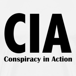 CIA - Conspiracy in Action - Men's Premium T-Shirt