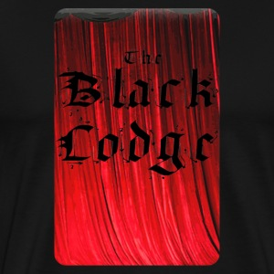 The Black Lodge - Men's Premium T-Shirt