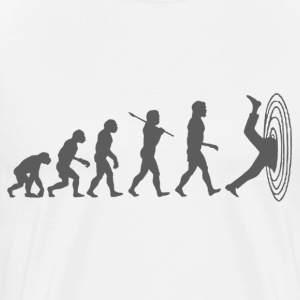 Evolution of Man Warped - Men's Premium T-Shirt