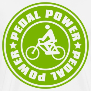 PEDAL_POWER - Men's Premium T-Shirt