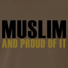 Brown Proud muslim T-Shirts