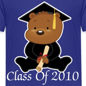 Class Of 2010 Graduation Bear - Kids' Premium T-Shirt
